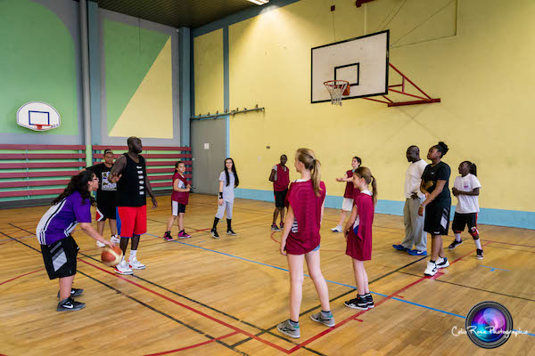 Photos : Un jeudi au Paris Lady Basket